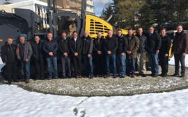 Customer visit to Bomag, Germany