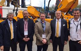CBL team and customers visit BAUMA 2016