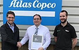 Atlas Copco award CBL Central Parts