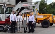 Lenmark Construction choose Thwaites and Takeuchi