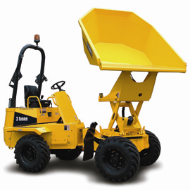 Thwaites Alldrive 3 tonne hi swivel manual dumper
