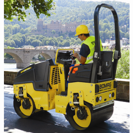 Bomag BW80AD-5 articulated tandem roller