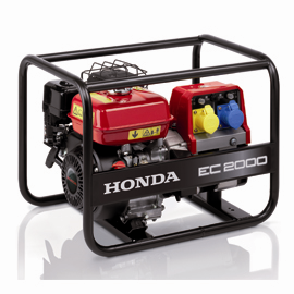Honda pumps & generators