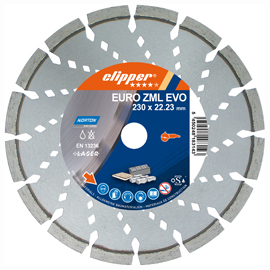 Diamond blade - building materials - Euro ZML Evo