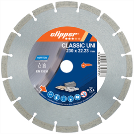 Diamond blade - building materials - Classic Uni