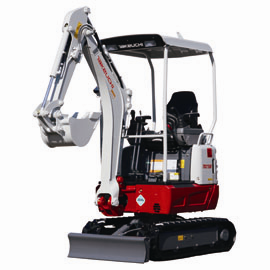 Takeuchi TB215R Short Tail Mini