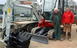 DCB Plant Hire choose a Takeuchi