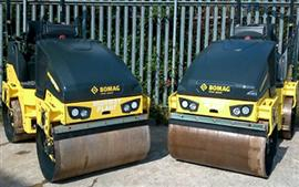 Bomag rollers for Highway Plant