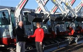 Kelsey upgrades with Takeuchi investment