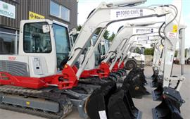 More Takeuchi investment for Ford Civil Eng.