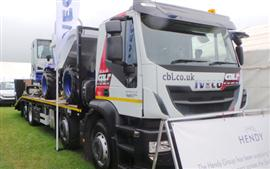 Iveco on display at Royal Cornwall Show