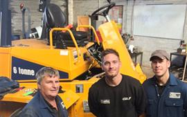 VCAS fitted to Thwaites dumper