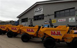 Thwaites for MJL Groundworks