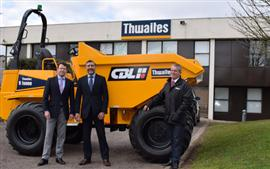 Extended Thwaites territory for CBL
