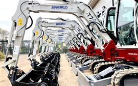 Brandwells Construction choose Takeuchi