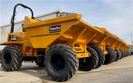 Witney Plant Hire choose Thwaites dumpers