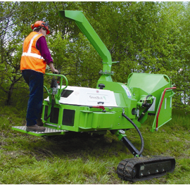 GreenMech STC220MT550 tracked chipper
